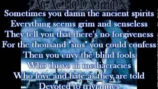 agathodaimon - spirit soldier with (lyrics)