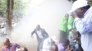 Ford Kenya, ODM rift turns violent at Wetang'ula launch