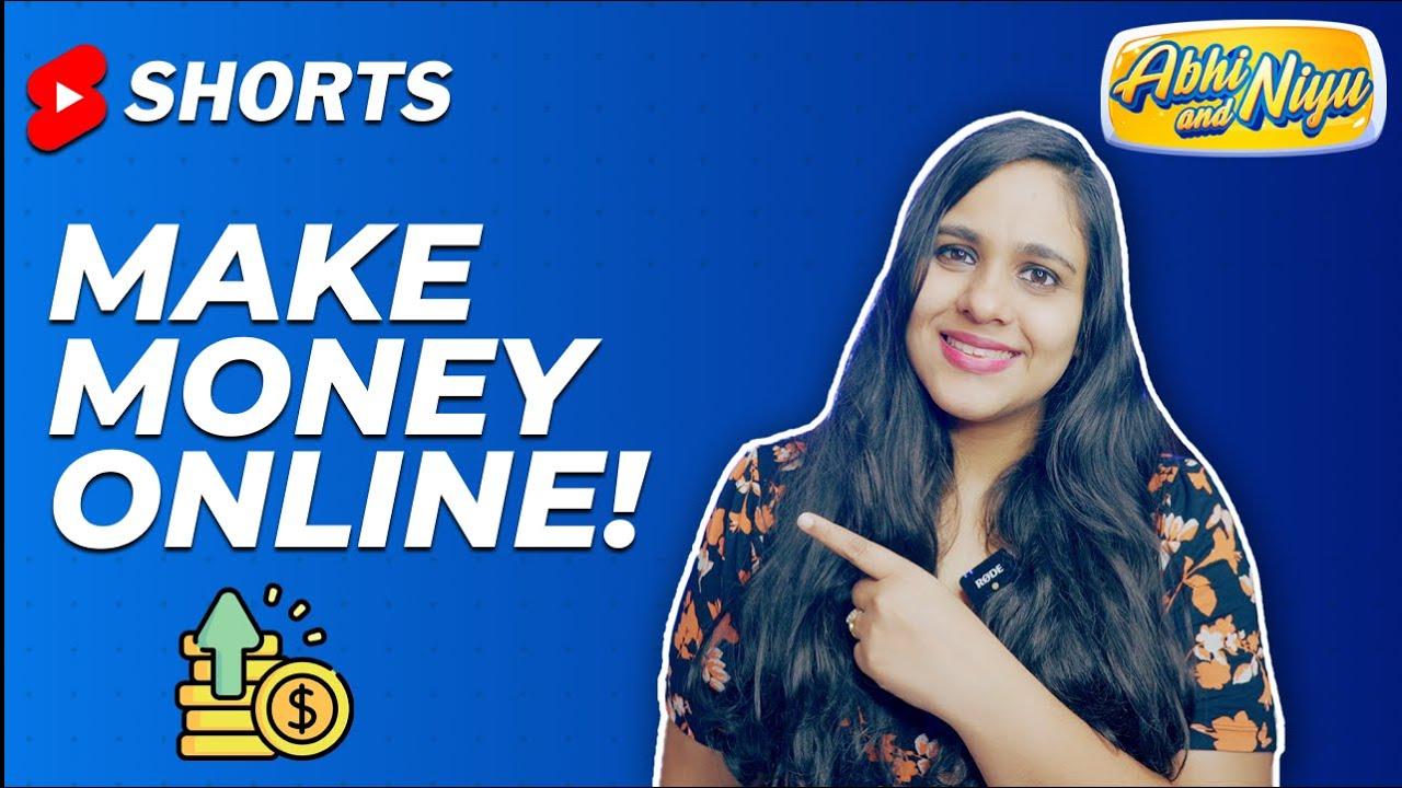 How To Earn Money Online|#abhiandniyu #shorts thumbnail