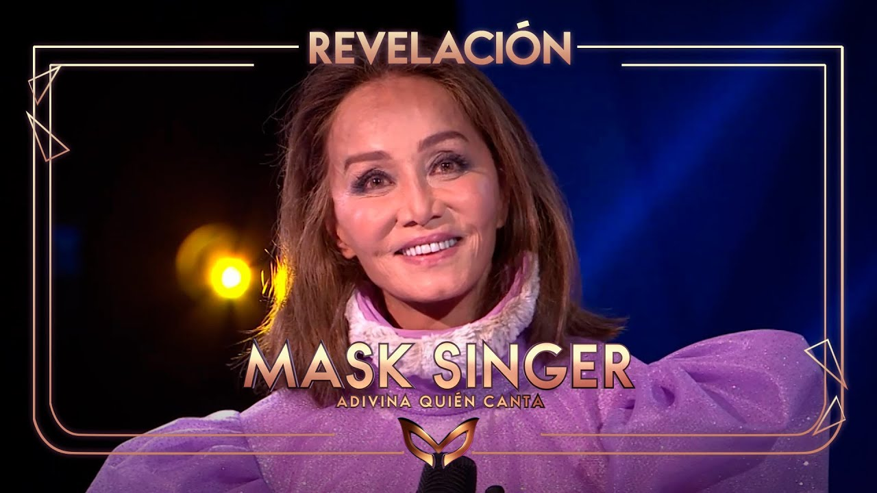 Isabel Presyler segona desemmascarada de 'Mask Singer'