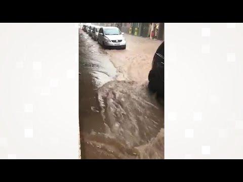 Por que a Rua Farinha Filho alaga toda vez que chove forte? Saiba o motivo