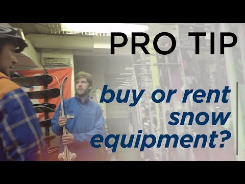 How to Rent or Purchase Ski & Snowboard Equipment