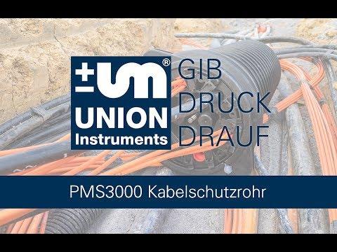 PMS3000 Dichtheitsprüfung Kabelschutzrohr nach ZTV TK Netz 40