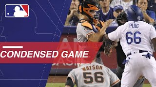 Condensed Game: SF@LAD - 8/14/18