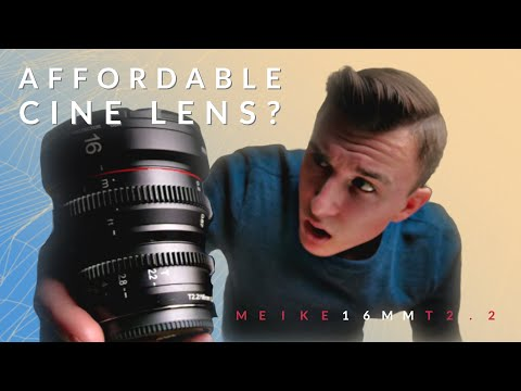 You NEED a Cine Lens | Meike 16mm T2.2 For Micro 4/3 Review