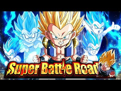 EZA STR SSJ GOTENKS VS. MAJIN BUU ARC CATEGORY SUPER BATTLE ROAD! (DBZ: Dokkan Battle)