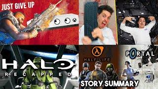 Halo, Smashing Keyboards, Half-Life, Portal & Impossible achievements!   Wandering Wednesday ep 1
