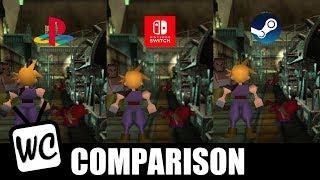 final fantasy 7 switch vs pc - TH-Clip