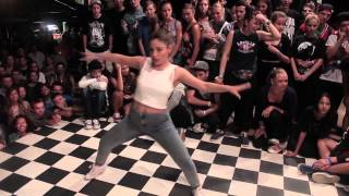 Dancehall final Karina vs Saba || StaminaBattle 2014
