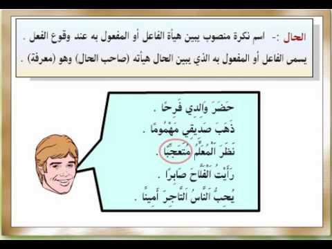 شرح درس الحال النحو اللغة العربية الصف الرابع الإبتدائي نفهم