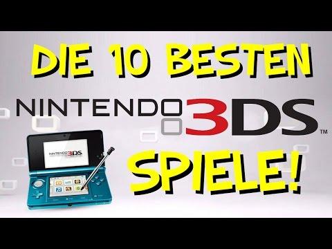 Top 10: Die besten Spiele für Nintendo 3DS