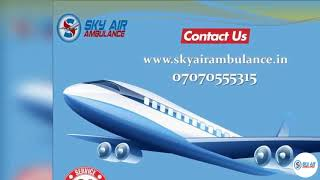 Top Level Emergency Air Ambulance Service in Coimbatore