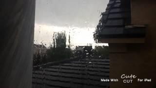 IT'S RAINING OUTSIDE!