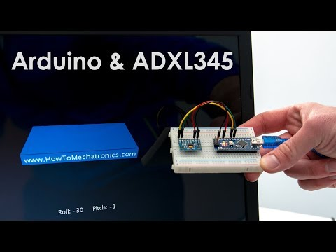How To Track Orientation with Arduino   ADXL345 Accelerometer Tutorial