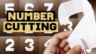 How to Cut Number Tutorial | Philippines