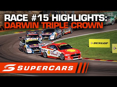 SUPERCARS BetEasy Darwin Triple Crown レース#14ハイライト動画