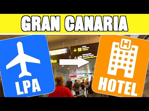 Gran Canaria airport to your hotel: Taxi, bus, shuttle or rental car?
