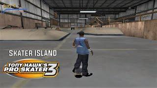 Tony Hawk's Pro Skater 3 (PS2) - Skater Island - GOLD MEDAL, 100% STATS AND DECKS