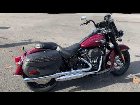 2020 Heritage Softail Classic 114