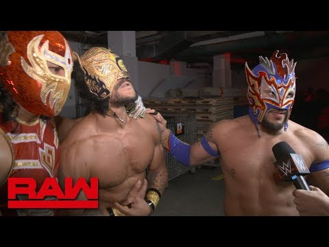Lucha House Party want Lars Sullivan: Raw Exclusive, May 20, 2019
