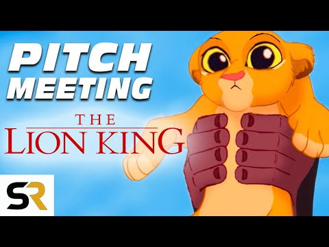 The Lion King Pitch Meeting