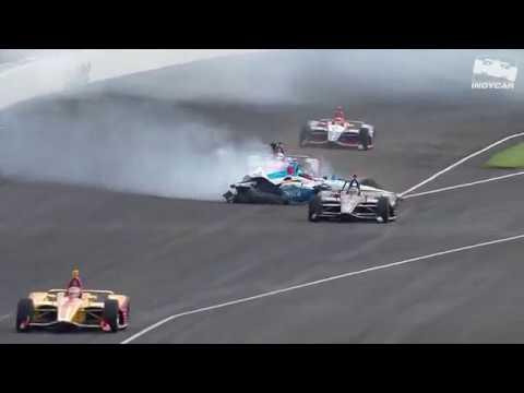 Raw video: Felix Rosenqvist crashes during 2019 Indy 500 practice