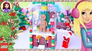 Lego Friends Build Christmas Santa Snowglobe Silly Play - Kids Toys