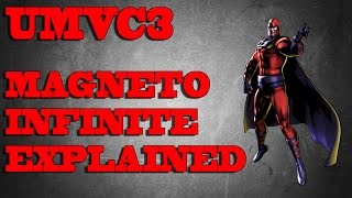 UMVC3 | Magneto TAC infinite Explained (All Sides) / Slow motion