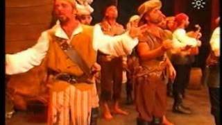 """Comparsa-""""Los Piratas""""(1998) Pasodoble-""""Con Permiso Buenas Tardes""""-by Mangla.MPG"""