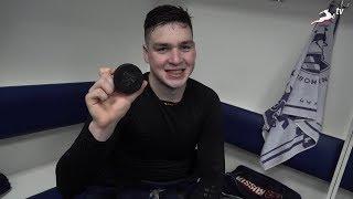 Дмитрий Родионычев о своей первой шайбе в КХЛ