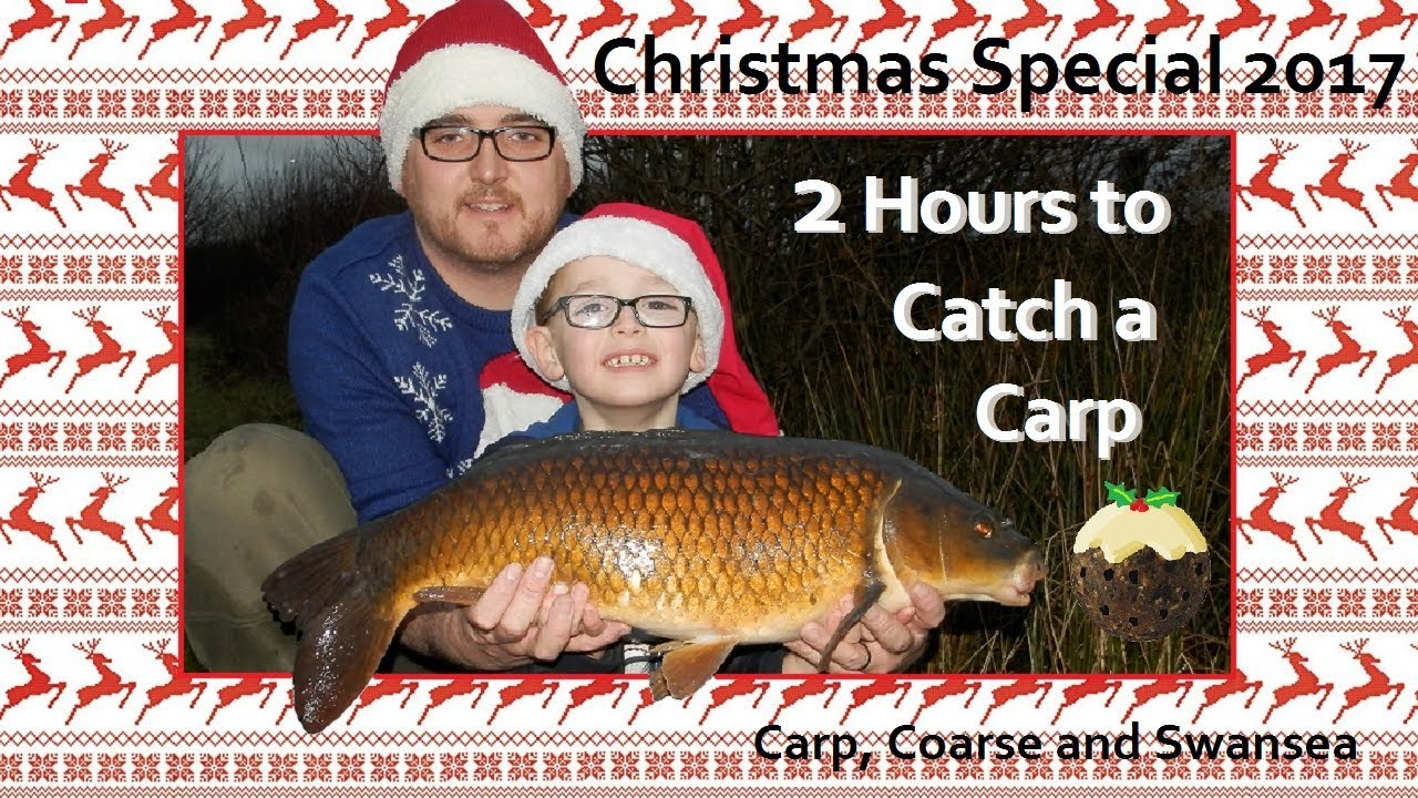 2 Hours to Catch a Carp. Christmas Special 2017. Video 163