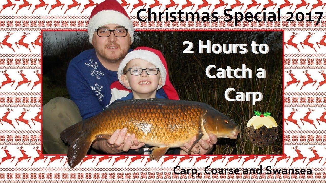 2 Hours to Catch a Carp. Christmas Special 2017. Video 163