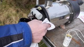Tauchpumpe für Zisterne | Wasserautomat | Steelpumps (Fingerhaus | calpeda) reparieren | HowTo ...