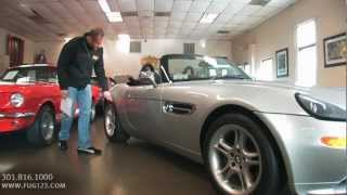 2001 BMW Z8 Roadster for sale with test drive, driving sounds, and walk through video