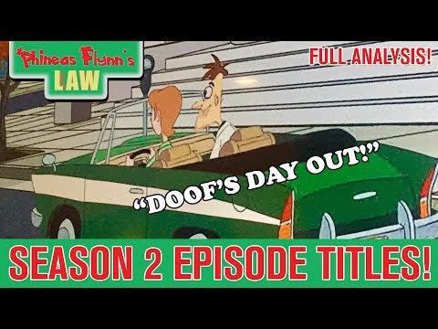 Season 2 Episode Titles & Synopsis Revealed!!   Milo Murphy's Law News