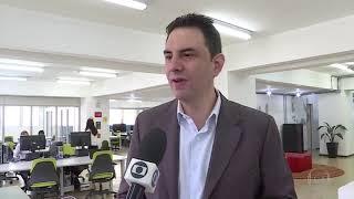 Rede Globo - MGTV: Daniel Melo da Empreendimentos Digitais fala sobre o P7 Criativo em BH-MG