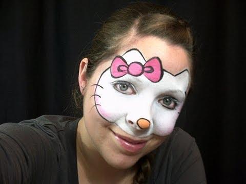 Maquillage Halloween Hello Kitty.Joker Halloween Makeup Tutorial Bosslady Shruti Youtube Download