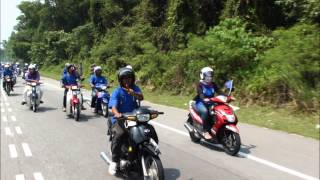 preview picture of video 'Gelombang Biru Parlimen Batu Gajah'