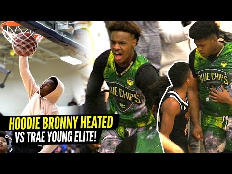 Download Bronny James 1st 360 DUNK!! Bronny Gets HEATED vs Trae Young's Team! Blue Chips Put To The TEST! HD Mp4 3GP Video and MP3