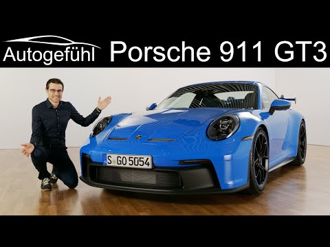 all-new Porsche 911 GT3 Premiere! The ultimate street legal racecar? 992 (2021)