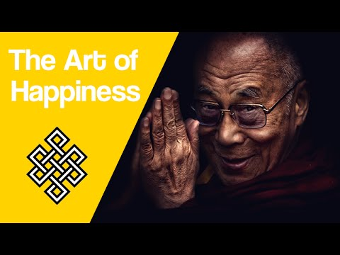 HOW TO BECOME HAPPY - THE ART OF HAPPINESS BY THE DALAI LAMA [ANIMATED BOOK REVIEW]