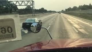 Michigan scenery, Trucking view
