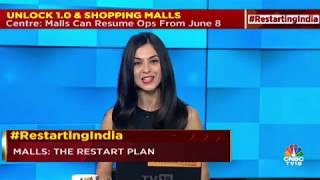 Pushpa Bector, Executive Director, DLF Shopping Malls, Rajneesh Mahajan, CEO, Inorbit Mall and Kumar Rajagopalan, CEO, RAI speak to Shereen Bhan on a Special Show - Malls: The Restart Plan   02 JUNE 2020   CNBC TV18