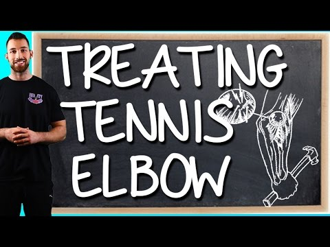 Video Tennis Elbow Treatment | Tennis Elbow Exercises, Symptoms, Relief, Cure, Causes, Massage, Support