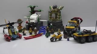 Обзор конструктора LEGO City База исследователей джунглей