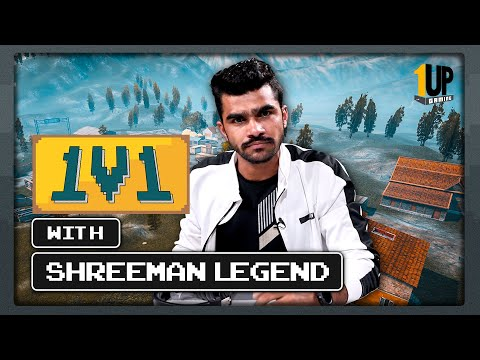 1v1 with Shreeman Legend | 1Up Gaming