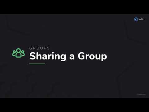 Sharing a Group