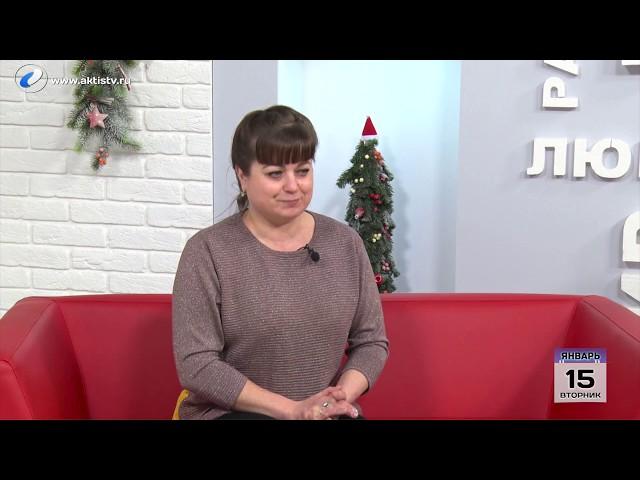 Гость программы «Новый день» Элина Григорьева
