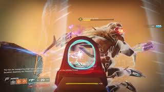 Destiny 2 Use Horsegow Rocket Launcher with Foggy Notion