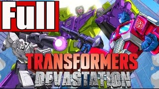 Transformers Devastation Full Game Walkthrough No Commentary PS4Transformers Devastation Gameplay)